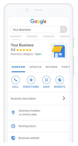 adding business to google