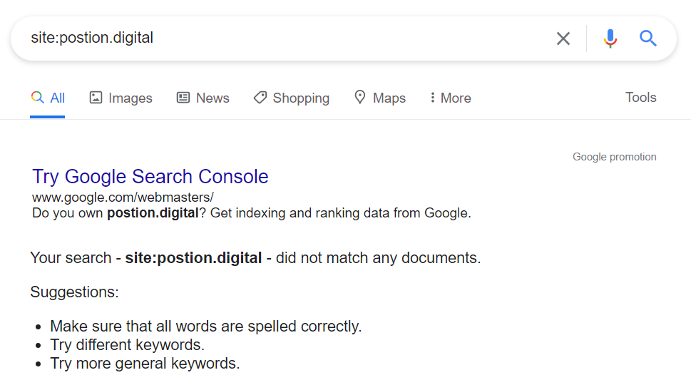 indexing pages on google